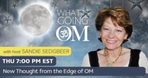 Sandie Sedgbeer What Is Going OM? logo
