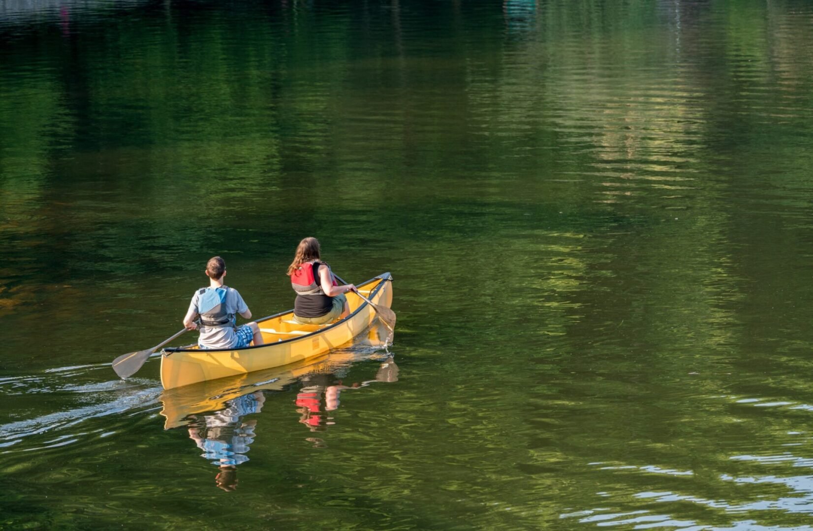 image of canoeing